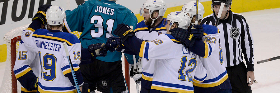 San Jose @ St. Louis NHL WCF Game 5 Odds Report