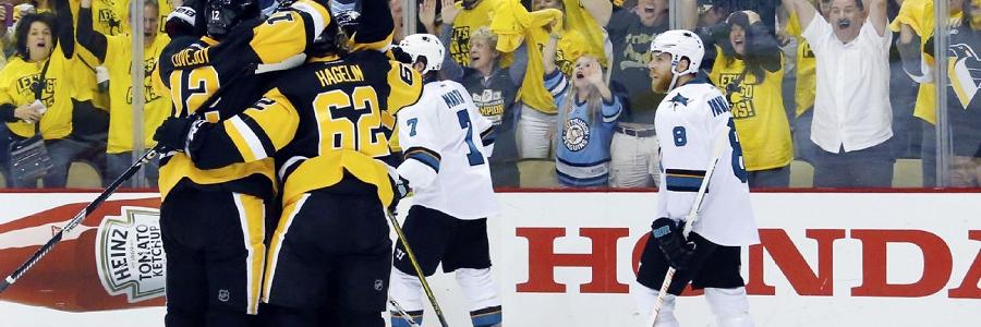 San Jose vs Pittsburgh Stanley Cup Game 2 Odds Report