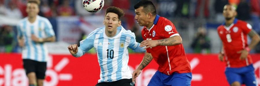 Chile vs Argentina Copa America Final Match