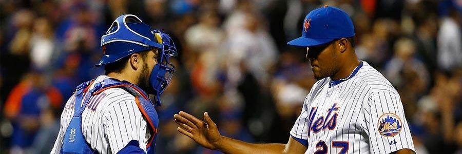 Online MLB Betting Pick on Washington Nationals at New York Mets