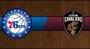 76ers vs Cavaliers Result Basketball Score