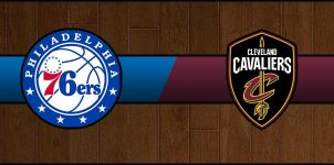 76ers vs Cavaliers Result Basketball Score
