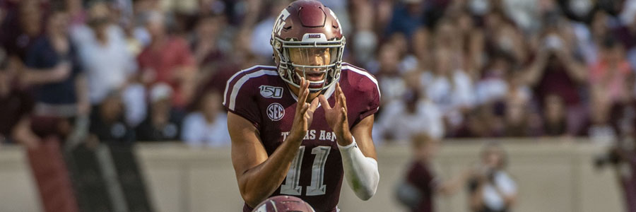 Texas A&M vs Arkansas 2019 College Football Week 5 Lines & Game Preview.