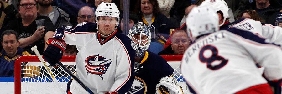 APR 03 - NHL Winning Favorites Between Columbus At Pittsburgh