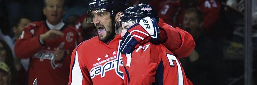 Washington Comes In As NHL Betting Favorite Against Carolina.
