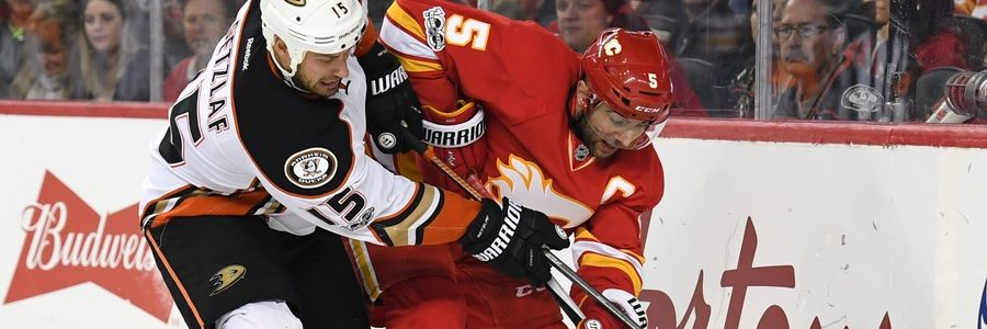 APR 04 - Winning Favorites For The Calgary At Los Angeles NHL Match
