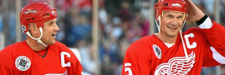 Flyers vs Red Wings NHL Spread