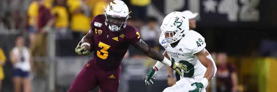 Arizona State vs Michigan State 2019 College Football Week 3 Odds & Pick.
