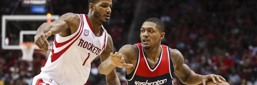 Game Preview, NBA Odds & Pick: Washington at Houston
