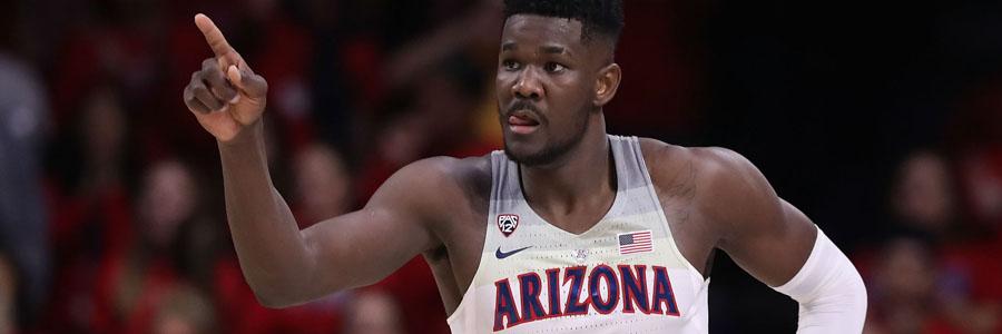 Arizona is the NCAA Basketball Betting favorite against Buffalo.