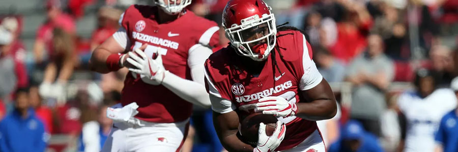 Texas A&M vs Arkansas should be an easy one for the Aggies.
