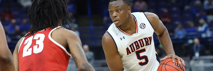 Auburn is not a safe NCAA Basketball Betting pick for this week.
