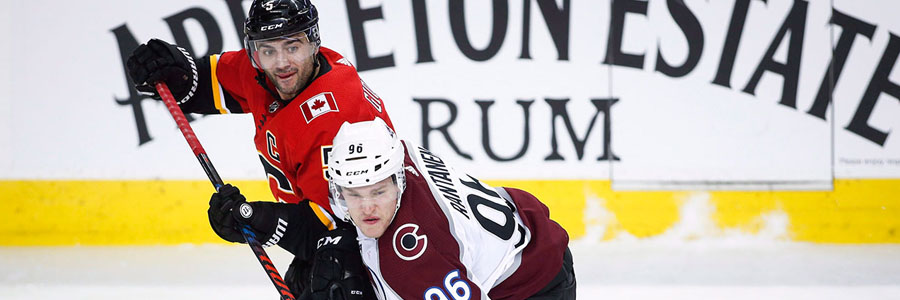 Flames vs Avalanche should not be a close one.
