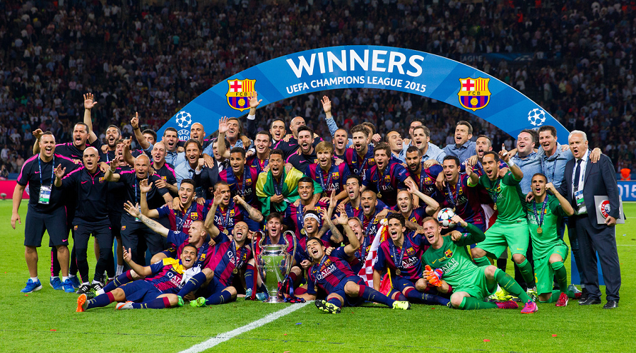 Barcelona UCL 2015