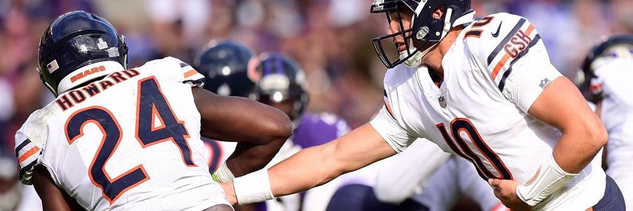 Patriots vs Bears looks like a close one.