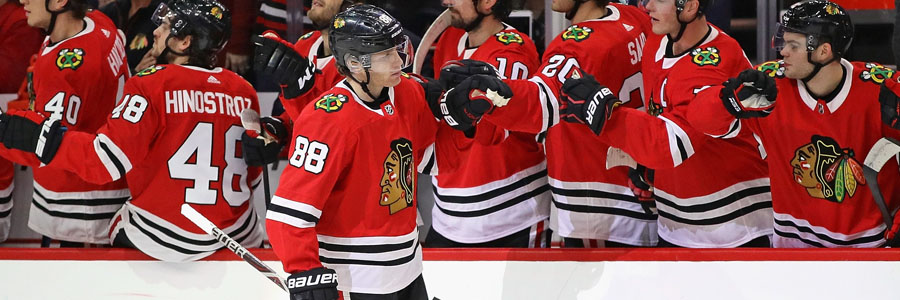 The Blackhawks shouldn't be on your NHL Betting list for this week.