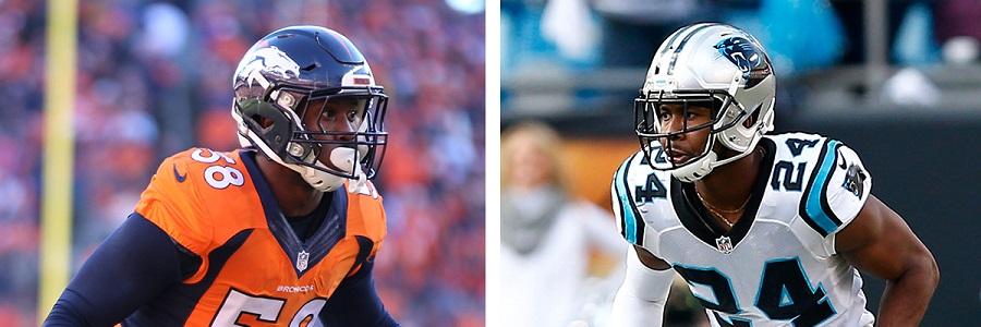 Broncos and Panthers Super Bowl LI Odds
