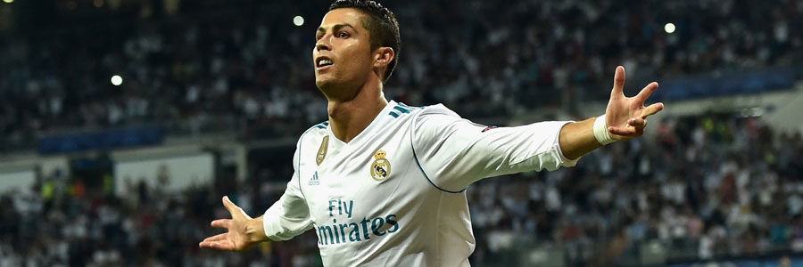 Cristiano Ronaldo and Real Madrid come in as the Soccer Betting underdogs for Leg 1 against Bayern Munich.
