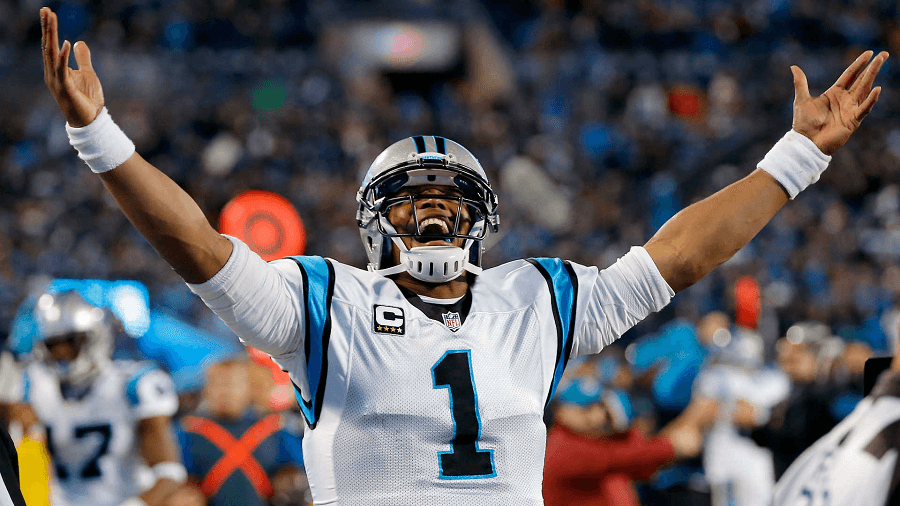 Newton and the Panthers cruised through Arizona on their way to Super Bowl 50.