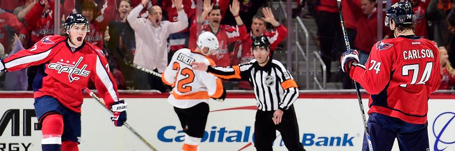 Washington vs Philadelphia Game 2 NHL Playoff Betting Preview