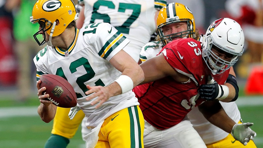 Cardinals vs Packers 2015 NFL Divisional Round