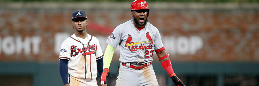 Cardinals vs Braves 2019 NLDS Game 2 Odds, Preview & Prediction.