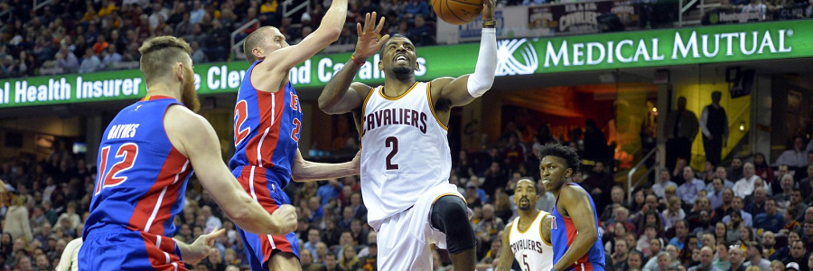 Cleveland vs Detroit NBA Playoff Series Betting Lines Preview