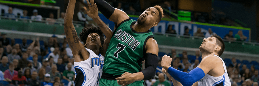 The Celtics have already played in Amway Center once this year.