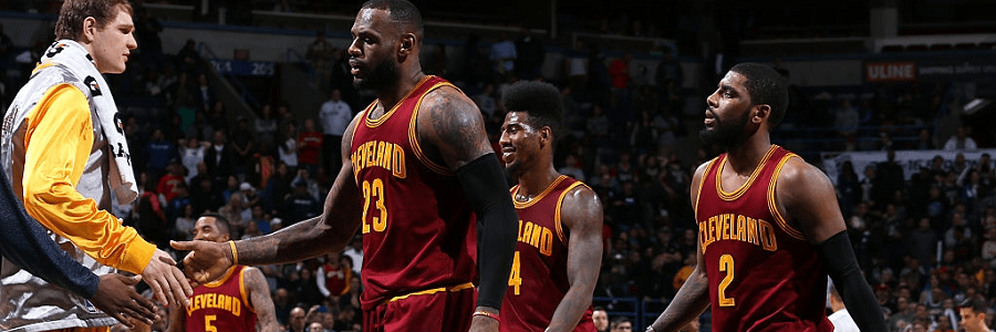 Portland Trail Blazers at Cleveland Cavaliers NBA Opening Lines