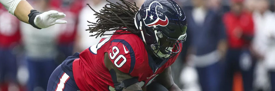 The NFL Odds for Week 16 are against Jadeveon Clowney and the Houston Texans.