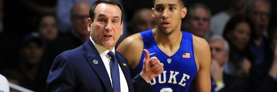 Wake Forest at Duke Lines, Free Pick & TV Info