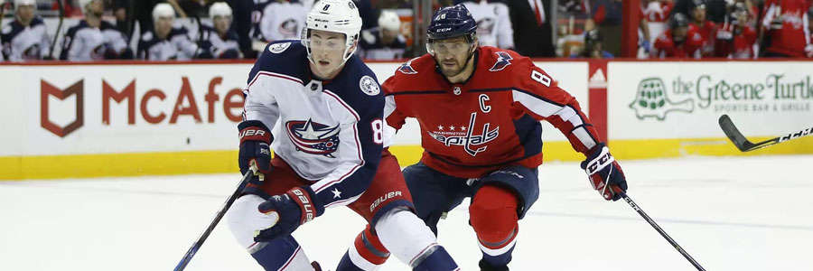 NHL Odds & Playoffs Game 2 Preview: Blue Jackets vs. Capitals.