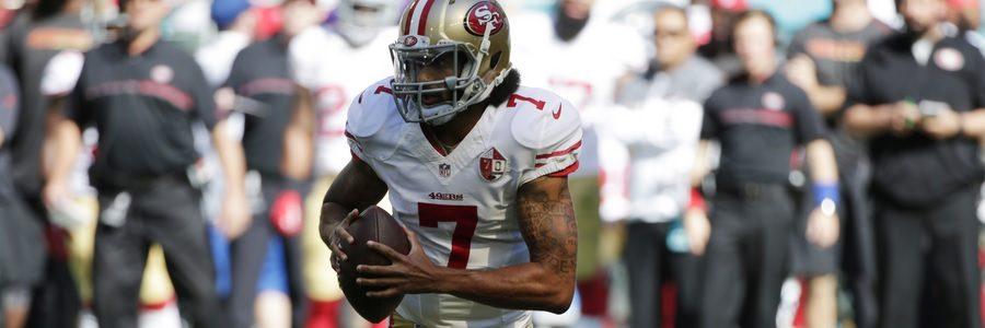 DEC 08 - NFL Week 14 Betting Odds New York At San Francisco