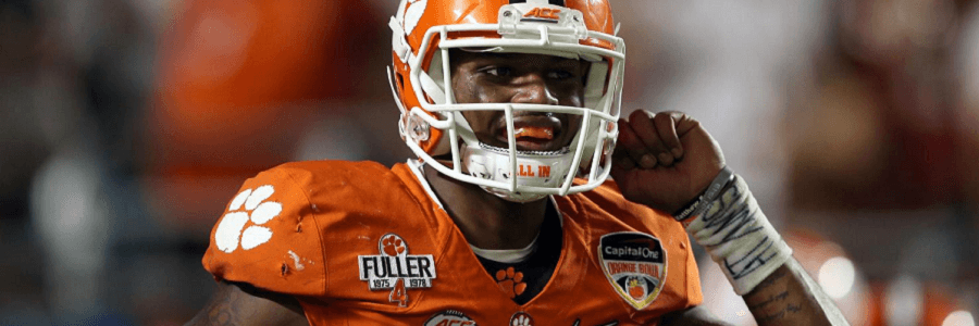 DeShaun Watson wants to lead his Tigers to the College Football Championship trophy.