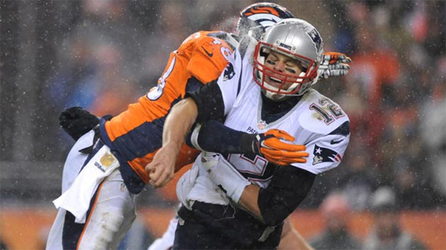 Broncos defense outshined Brady during the AFC Championship Game