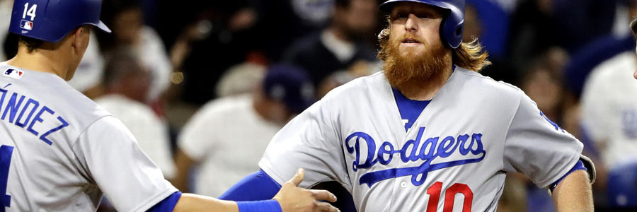 Dodgers are favorites at the MLB Odds for Wednesday Night vs Cubs.