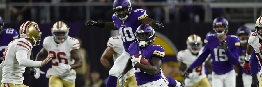 The Vikings improved to 2-1 in NFL preseason action by getting past San Francisco 32-31 in a Week 3 thriller.