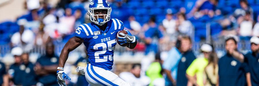 Duke vs Virginia 2019 College Football Week 8 Odds & Prediction.