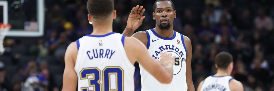 Kevin Durant won't play in Blazers vs Warriors Game 1.