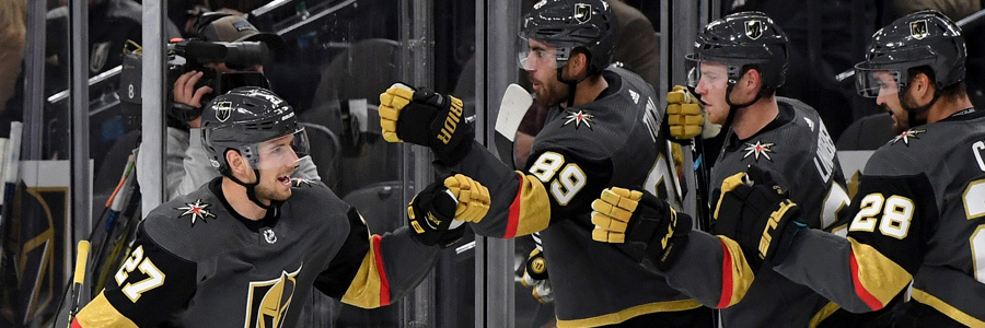 Jets vs Golden Knights NHL Betting Lines & Game Analysis.