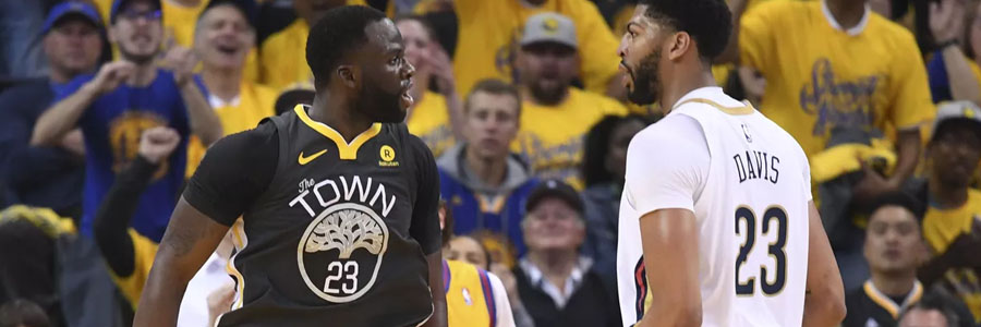 Golden State at New Orleans Game 3 Info & NBA Betting Pick.