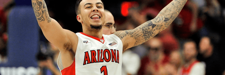 Gabe York was the Arizona hero vs Cal.