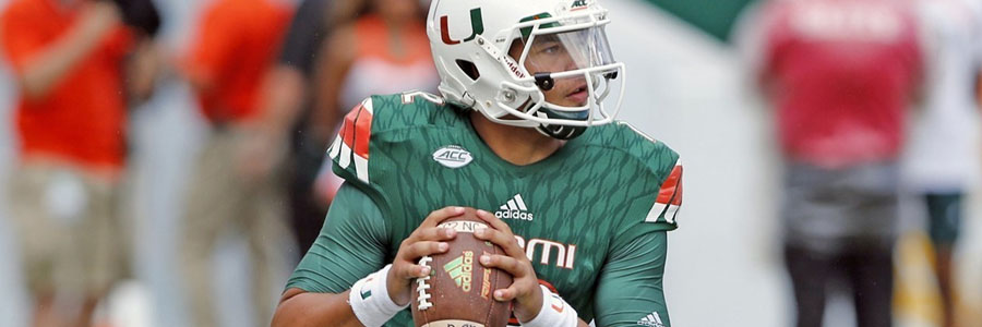 The Hurricanes come in as the Orange Bowl Betting Underdog.