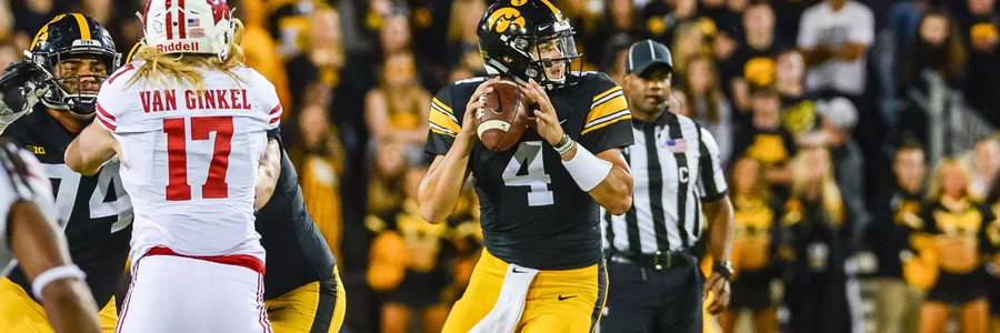 Iowa vs Wisconsin 2019 College Football Week 11 Odds, Preview & Pick.