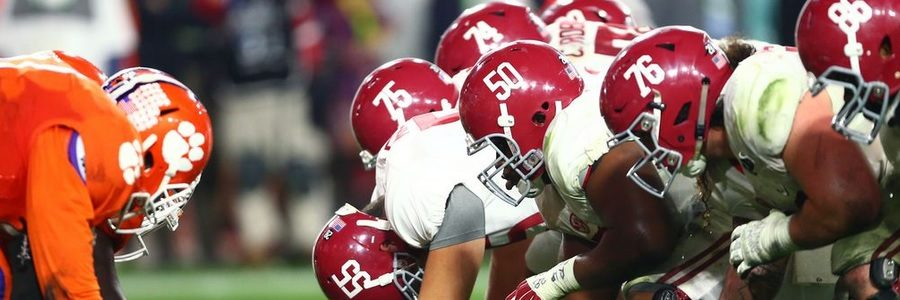 JUN 02 - Early Betting Picks To Win The 2017-18 College Football Championship
