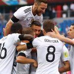 Germany Vs Cameroon 2017 Confederations Cup FIFA Lines