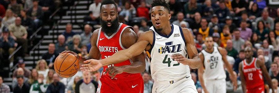 Utah at Houston Game 2 Info & NBA Betting Prediction.