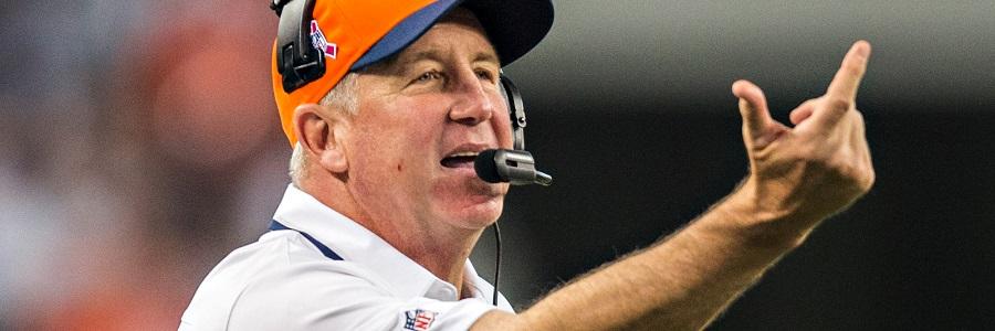John Fox Denver Broncos, 2017 NFL Betting Props