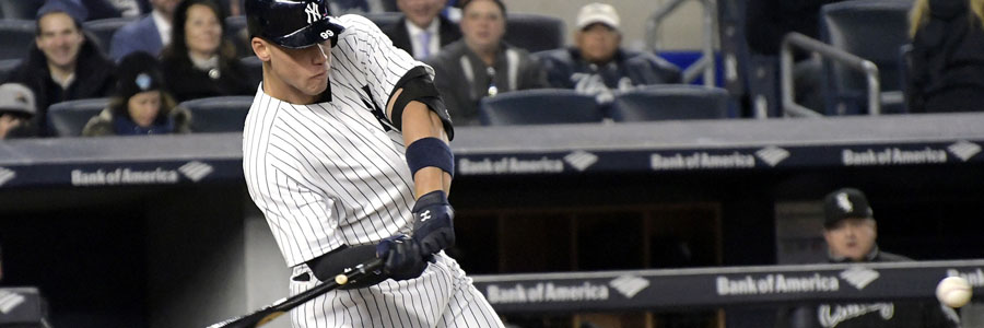The Yankees should be one of your MLB Betting picks of the week.