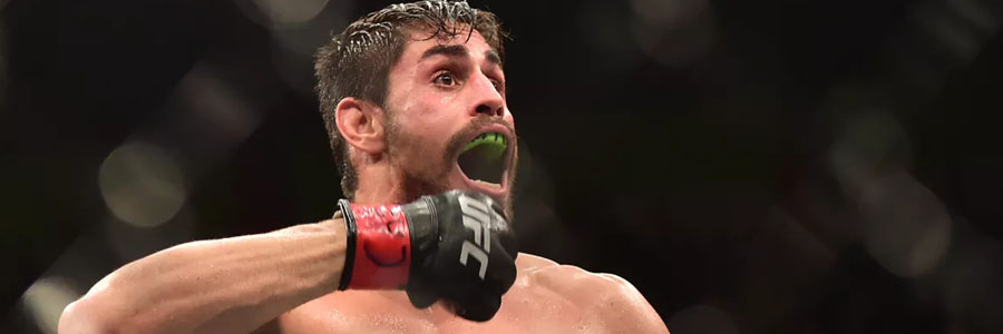 Antonio Carlos Junior is one of the favorites for UFC Fight Night 152.